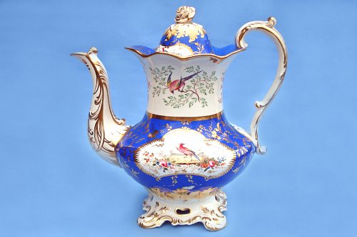 Acanthus Base shape, tall teapot
